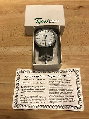 Welch Allyn Tycos Classic Pocket Aneroid Sphygmomanometer GAUGE ONLY REF 5090-03