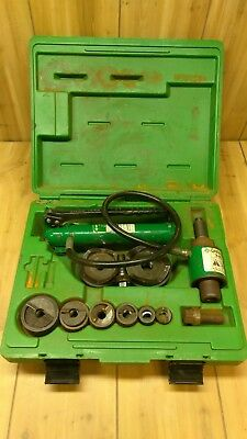 Greenlee 7306SB Ram and Hand Pump Hydraulic Driver