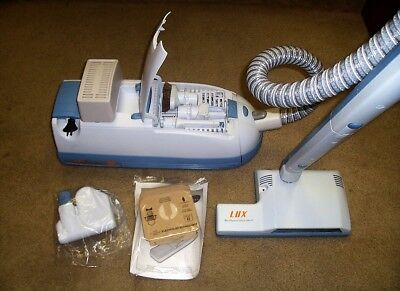 Electrolux C154E Lux Guardian Hepa Deluxe Canister Vacuum Cleaner *very Nice*