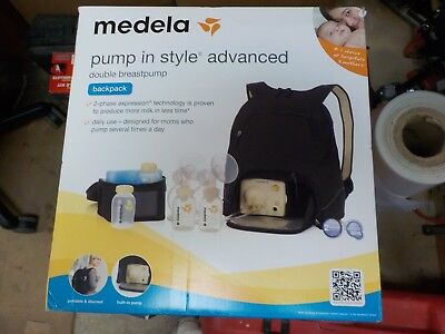 Medela Pump In Style Advanced Double Breast Pump Backpack #57062 - Brand New!!