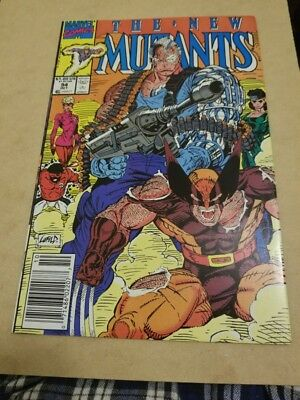 The New Mutants #94 (1990) VFNM HIGH GRADE🔥 WOLVERINE VS CABLE 🔥 EARLY APP 🔥