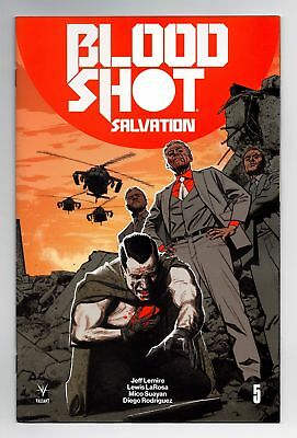 Bloodshot Salvation #5 1:20 Greg Smallwood Variant Valiant Comics Vei Nm