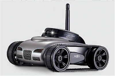 RC Car Tank Toy With Camera WiFi Remote App-Control Wireless