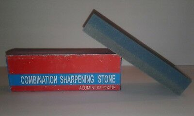 "6 "" Combination Sharpening Stone Aluminium Oxide Knife Blade Sharpener Stone"