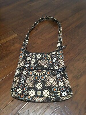 "2012 Vintage Vera Bradley ""Canyon"" Hipster Crossover Bag, Gently Used"