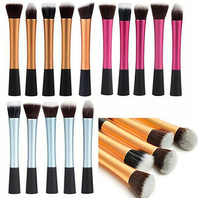 Pro Cosmetic Stipple Powder Blush Foundation Brush Makeup Eye Brushes Tools HOT
