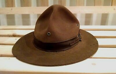 Vintage Boy Scouts of America Scoutmaster Hat Size 7 1/8 1920s 1930s?