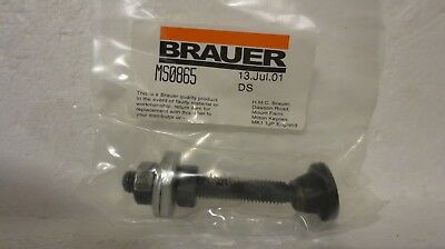 Brauer Ms0865 Threaded Swivel Foot Spindle M8 For Manual Toggle Clamps (New)