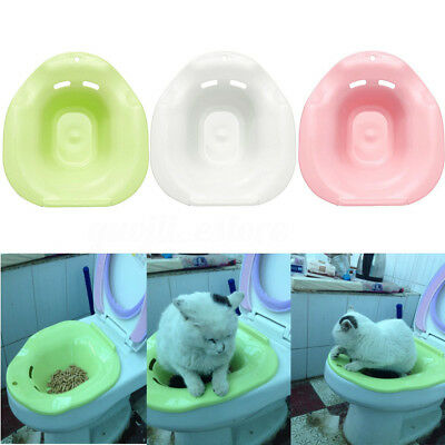 Cat Toilet Training Kit Easy To Clean System Kitten Pet Potty Urinal Litter Tray