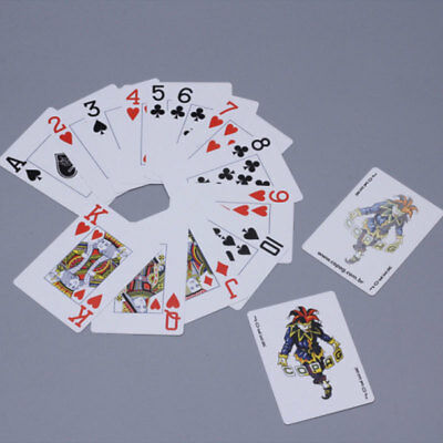 Bicycle Prestige 100% Plastic Poker Playing Cards Deck  Jumbo Index Red