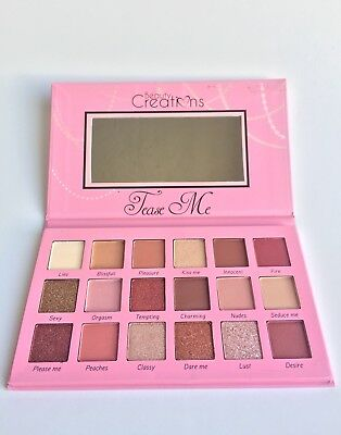 Beauty Creations Tease Me Eyeshadow Palette  FREE SHIPPING