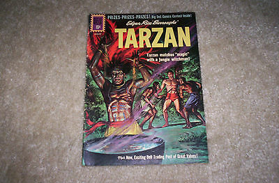 Tarzan-No. 125-July/ August 1961-Dell Comics-Very Good Plus Condition.