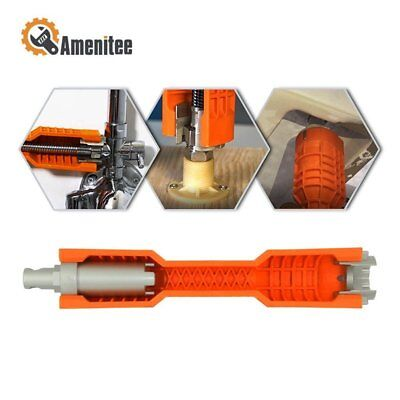 Amenitee 2018 New Faucet and Sink Installer, Orange&Red Extra-long design Hot