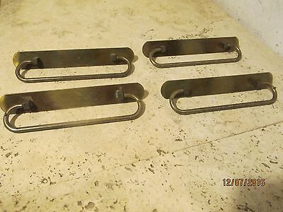 Vintage Dresser Drawer Handles Lot of 4 Handles 1960's Rare