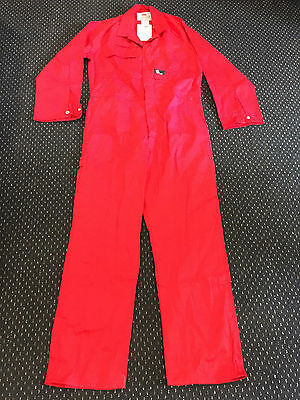 C30065 Can't Tear Em Flame Retardant Overalls (Red)