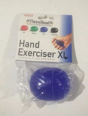 Thera-Band Hand Exerciser XL Blue (Firm)