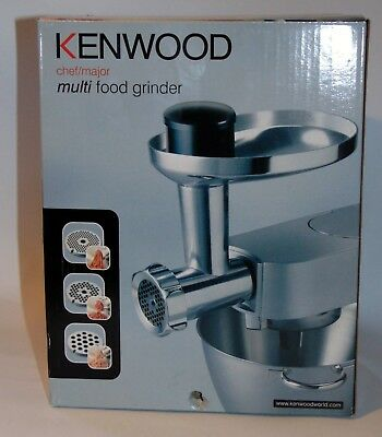 NEW Kenwood Chef Sense Multi Food Meat Electric Grinder MIncer Attachment AT950A