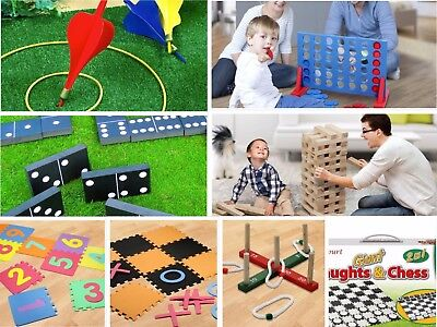Jumbo-Sized Family Garden Outdoor Summer Games - Choose your Type