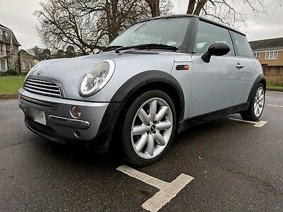 Mini Cooper April 2003, 91k miles, leather, climate, silver, Excellent Condition