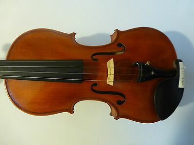 New Hand Made Violin, Stradivarius Copy, Antique Style, Ebony Fittings, From Uk
