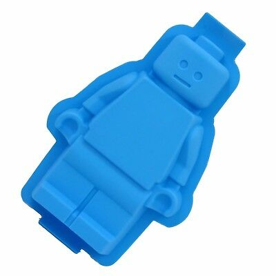 XXL Lego Man Cake Mould Figure Silicone Baking Pan Tray Mold Soap Party Ice Fun