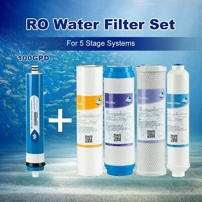 Compatible Reverse Osmosis Water Filter Complete fit 100 GPD APEC 5 Stage System