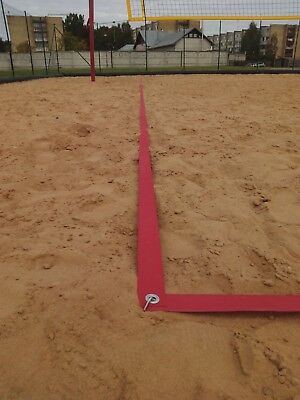 Beach volleyball courts. durable 16*8