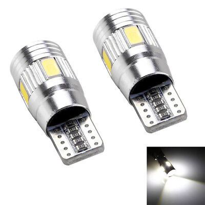 10x T10 W5W LED Error Free Canbus 5630 6SMD Side Wedge Lights Bulbs 501 194 Tool