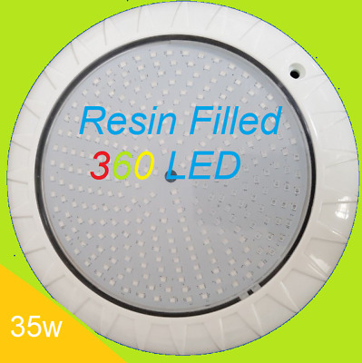 New_ Technology 360 Led Abs Super Bright *smd2835  Pool Light 7 Rgb / Remote