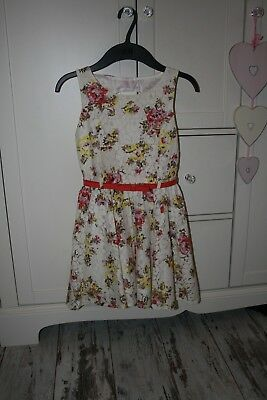 Girl's two dresses Dunnes Stores and Name it size 7 years