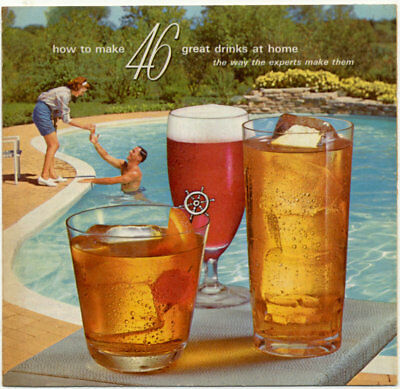 Booklet Vintage Southern Comfort How To Make 46 Great Drinks At Home