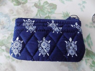 Vera Bradley coin purse with pocket  new with Sea Turtles
