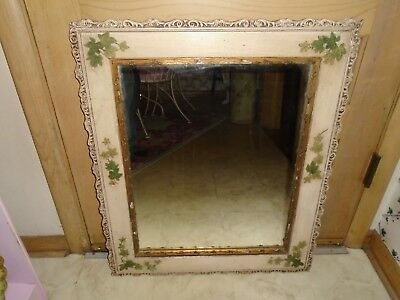 Vintage Antique Ornate Wall Mirror Hanging