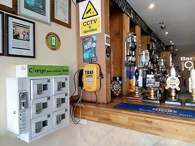 MOBILE PHONE CHARGING STATIONS/6 DR/£1 - £6 gbp/PUBS, CLUBS, BAR, CATERING VANS