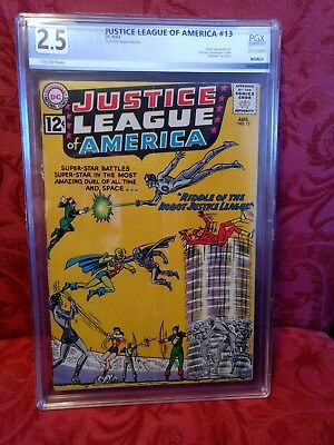 Justice League Of America #13 August1962 Pgx  2.5 (Good+)  Unrestored!! $39.00!!