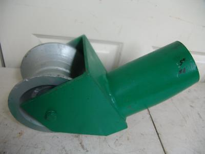 "Condux Feeding Sheave 5"" Heavy Duty For Greenlee Cable Puller Tugger #2"
