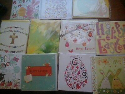 60 petite easter cards, wholesale joblot greeting cards