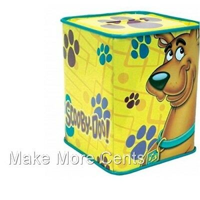 Scooby-Doo Paw Prints Coin Piggy Bank - FREE SHIPPING