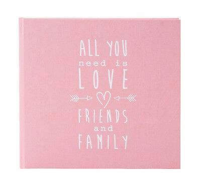High quality wedding guest book. Pink wedding guest book. Love design. 88 pages.