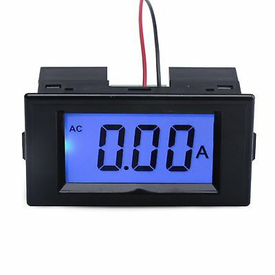 DROK® AC 220V Power Supply Ammeter LCD Digital Display Panel Amp Meter with