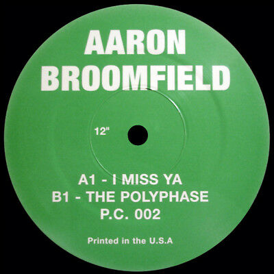 Vinyl Aaron Broomfield The Polyphase RE