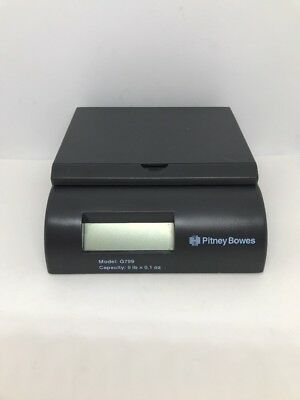 Pitney Bowes 5lb Small Office Series Scale Model G799 Gray Works Great
