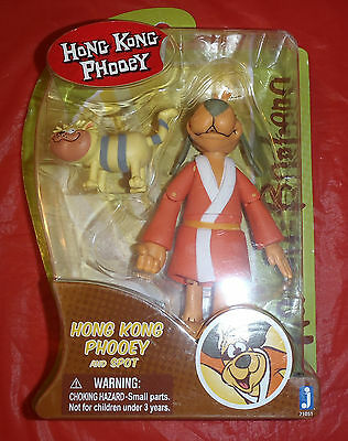 """Hanna Barbera Hong Kong Phooey 6""""  Action Figure Toy Ages 4+ New in Box"""