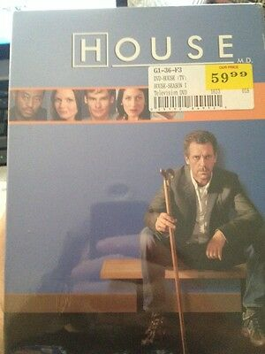 House: Season One (DVD, 2005, 3-Disc Set, Widescreen)-BRAND NEW-STILL SEALED