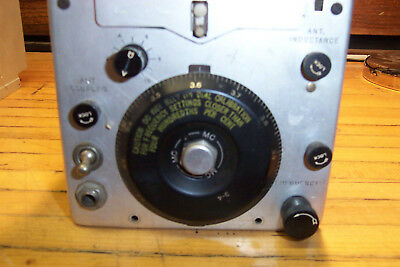 SIGNAL CORPS US Army WESTERN ELECTRIC BC-696-A  ARC-5 COMMAND SET 3-4MC 18747