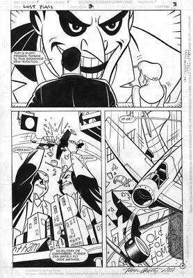 DC Batman Adventures The Lost Years # 2 page 3 Original Art Joker