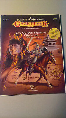 D&D Gazetteer Golden Khan of Ethengar AD&D Rollenspiel RPG TSR
