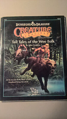 "D&D Creature Crucible ""Tales from the Wee Folk"" AD&D Rollenspiel RPG TSR Faeries"