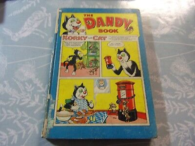 DANDY Annual Book 1960 fairly good condition