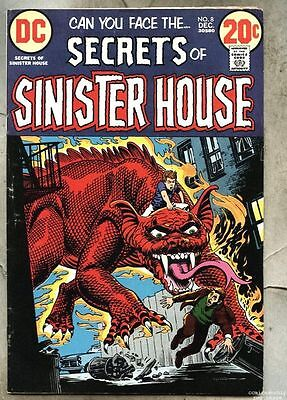 Secrets Of Sinister House #8-1972 fn- DC / Nick Cardy